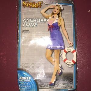 """Woman adult costume """"anchors away"""""""